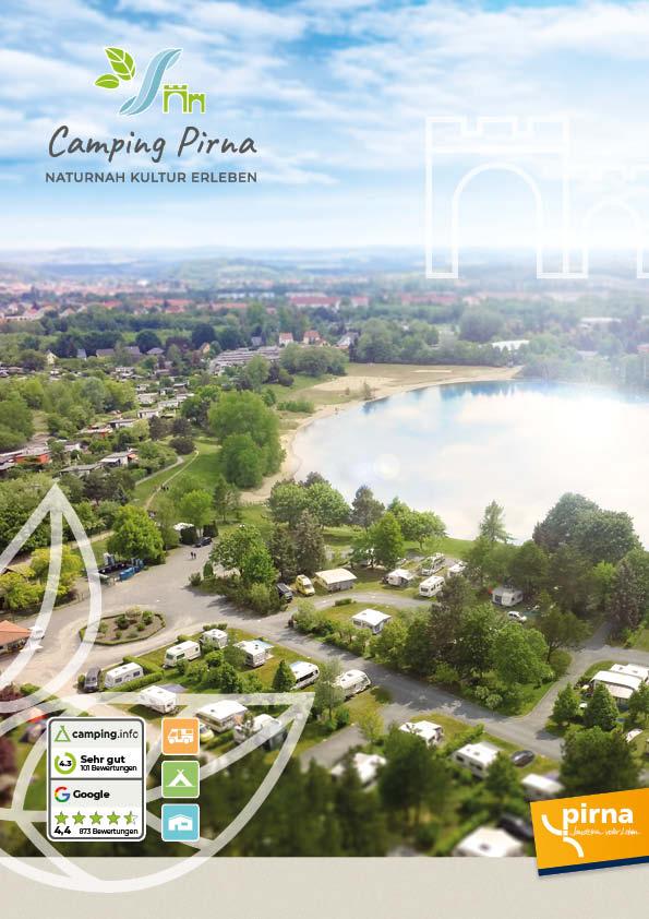 Cover-Imagebroschüre über den Naturcampingplatz