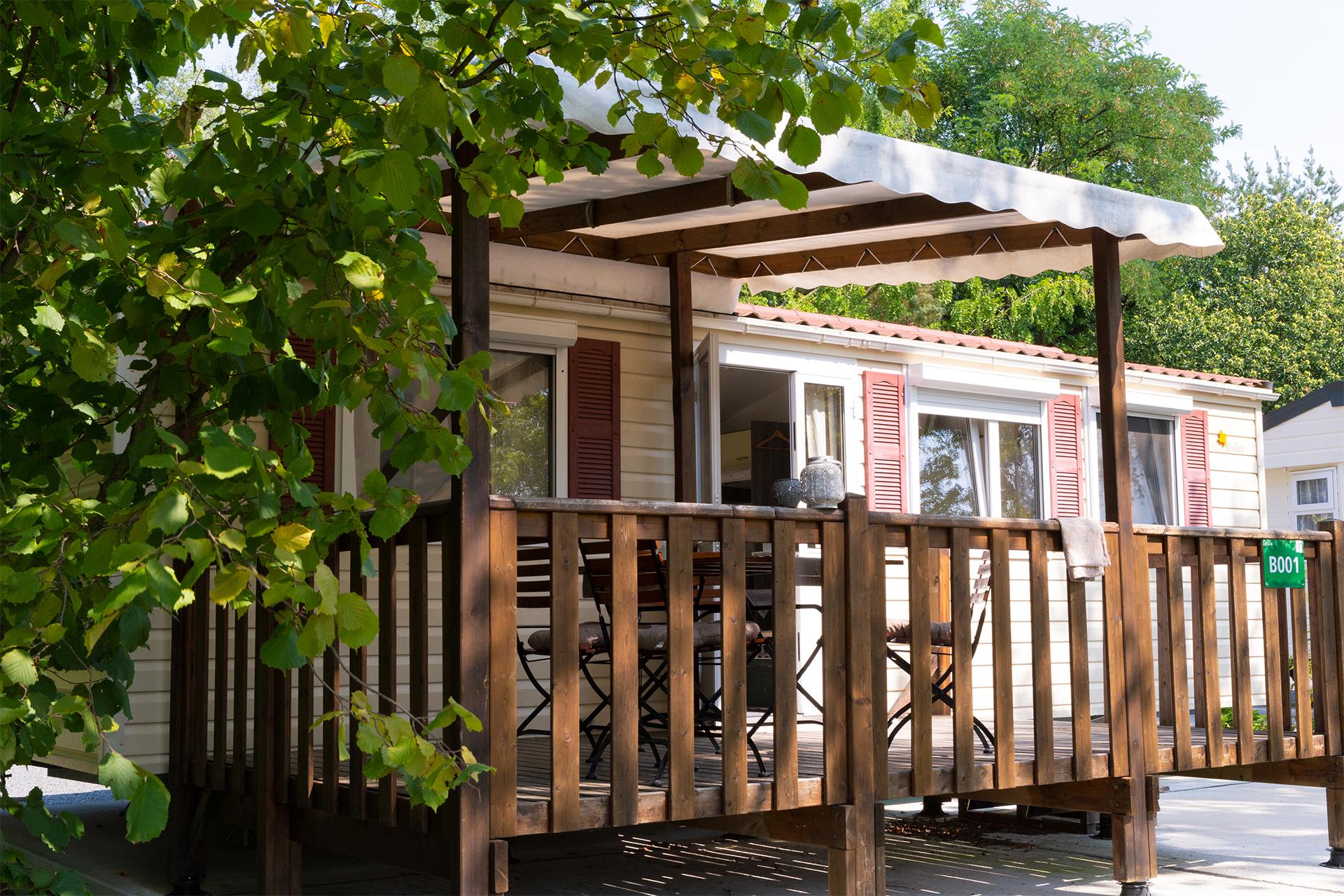 Campingplatz mit Bungalow in Pirna