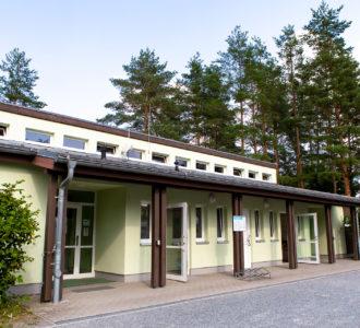 Sanitärgebäude 1 des Campingplatz Pirna