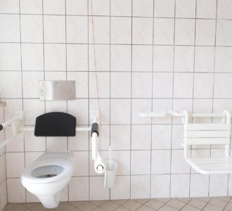 Camping Pirna mit behindertengerechten Toiletten
