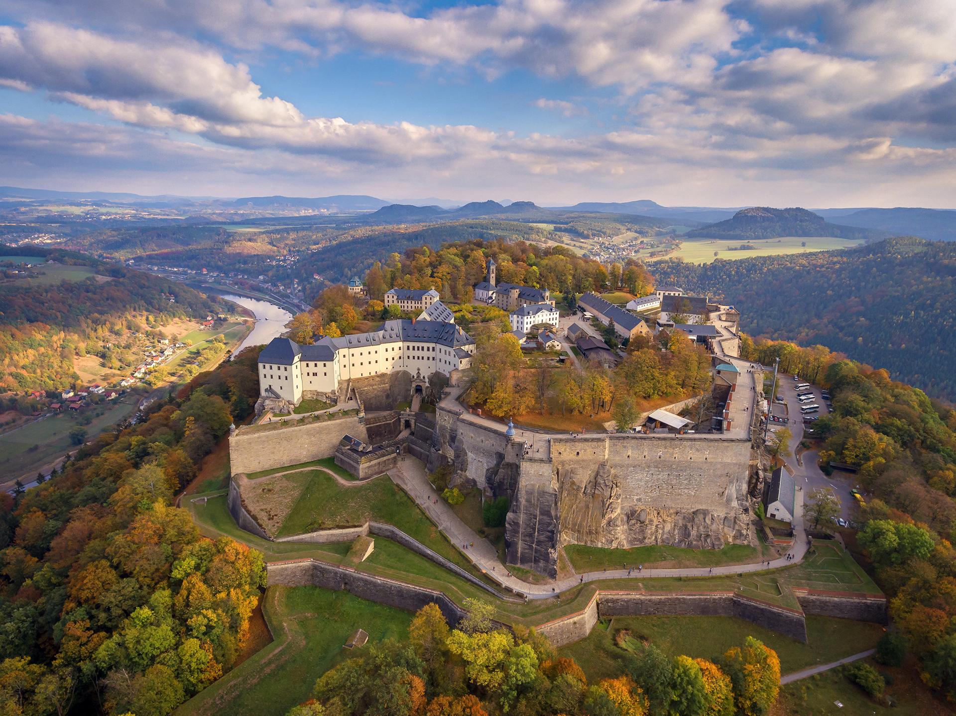Camping Pirna - Festung Königstein